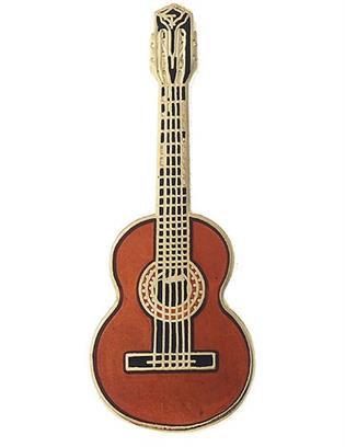 Mini Pin - Classical Guitar - Spruce