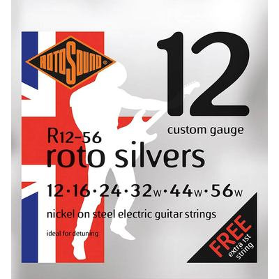 Rotosound Custom Gauge (Silver 12's)