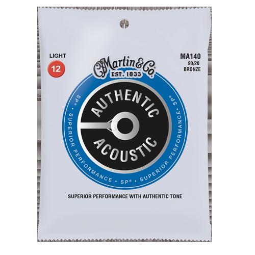 Martin Authentic Acoustic Phosphor Bronze - Light 12's
