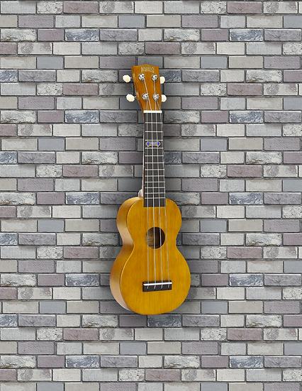 Mahalo Kahiko+ brown extra-wide neck soprano ukulele