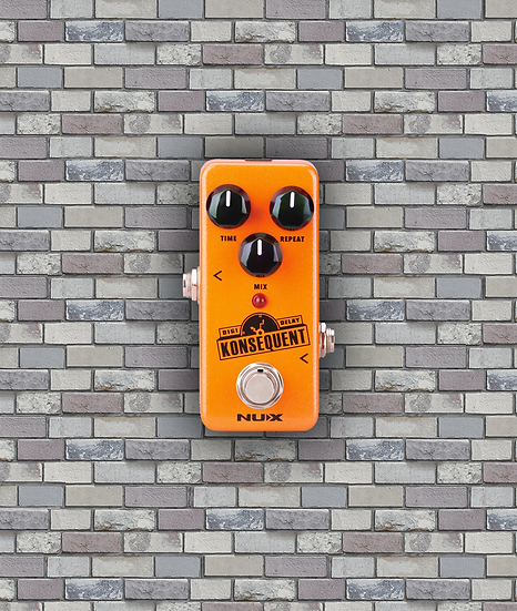 NUX NDD-2 'Konsequent' Digital Delay Pedal