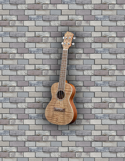 Adam Black Exotic Wood Series Concert Ukulele - Quilted Ash