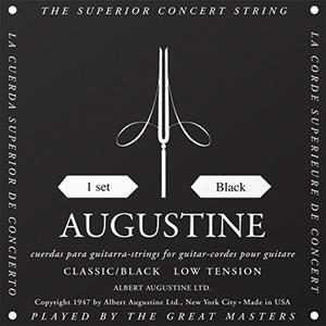 Augustine Classical Strings Black