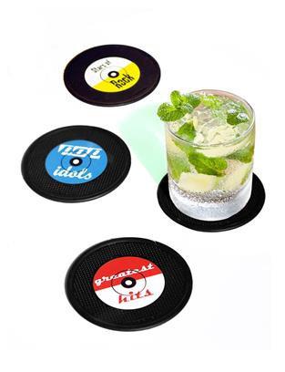 Long Drink Coasters - Set Of 4