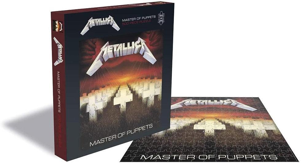 Metallica Master of Puppets 500 Piece Jigsaw