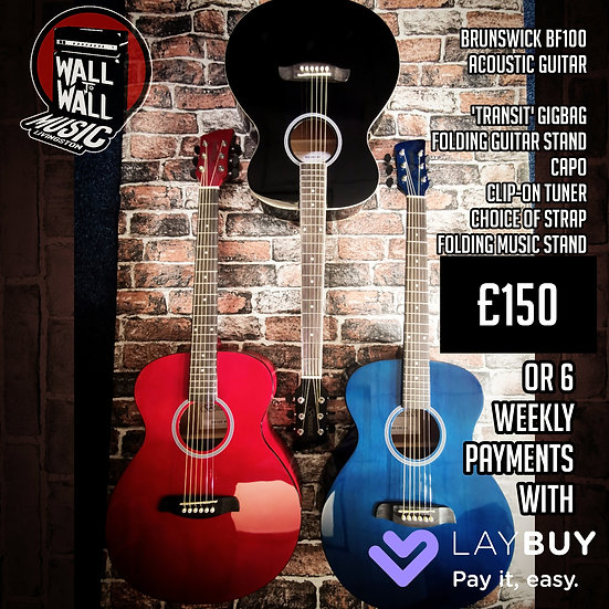 Brunswick Guitar Starter Pack