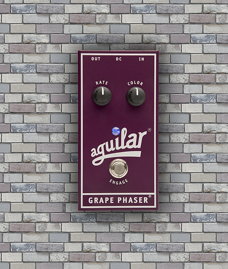 Aguilar Effects Pedal 'Grape Phaser' Bass Phase
