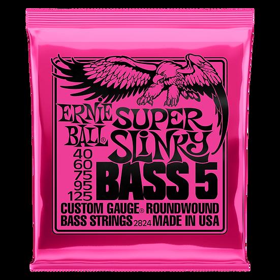 Ernie Ball Super Slinky 5 String Bass Strings