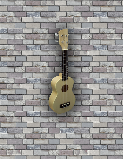 Brunswick Ukulele Soprano. Maple Finish