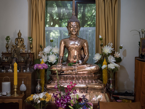 A New Buddha for the New Temple