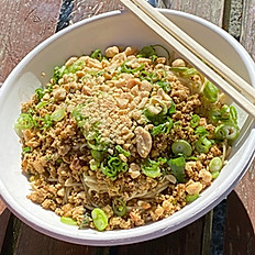 Spicy Tofu Dandan Noodles
