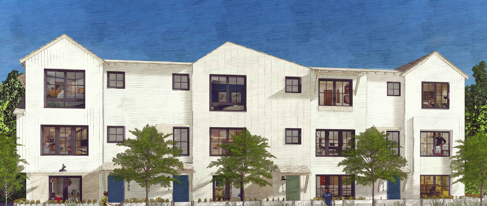 Market-Rate Townhomes