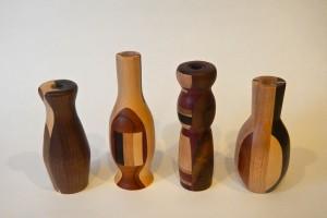 Bud vases | Assorted hardwoods