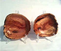 Matching bowls | Cherry burl
