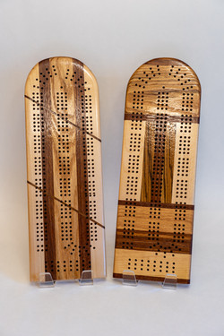 Cribbage boards | Assorted woods