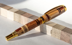 Fountain pen | Assorted hardwoods