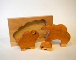 Elephant puzzle | Cherry