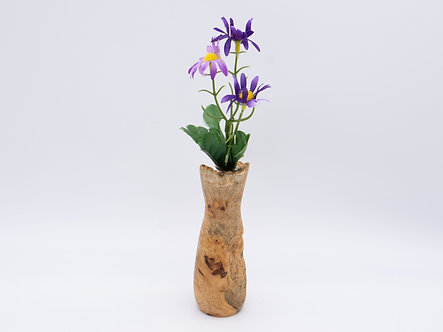 Live edge natural - bud vase