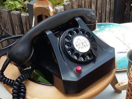 Ode an das gute, alte Telefon