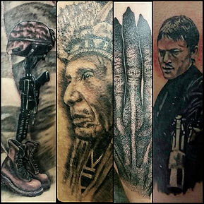 Detailed Tattoos
