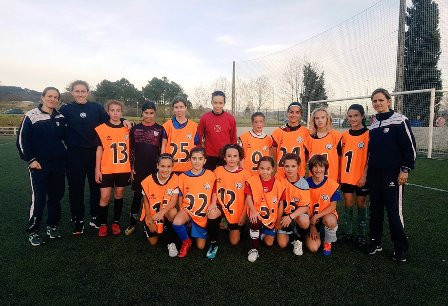 La jugadora de Bizkerre Daniela Agote está en la convocatoria de la selección de Euskadi sub 12 para