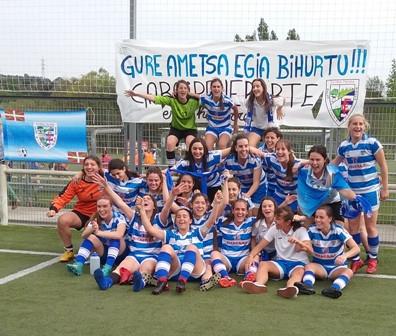 El primer equipo femenino de Bizkerre comenzará y terminará la liga en casa
