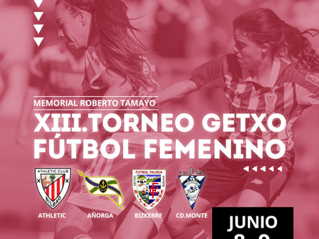 Athletic, Añorga y Monte, invitados al XIII Torneo Getxo de Fútbol Femenino