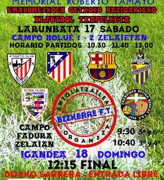 Los campos de Bolue y Fadura acogen este fin de semana el XI Torneo Internacional de Getxo Femenino
