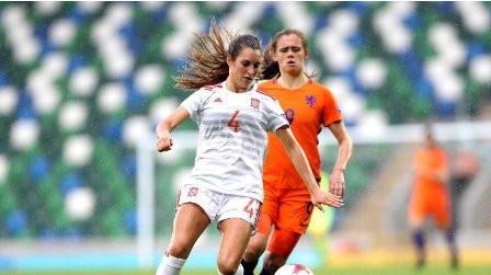 La ex jugadora de Bizkerre Andrea Sierra se proclama Campeona de Europa sub 19 con la selección espa