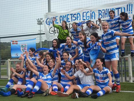 Bizkerre Futbol Taldea es ya equipo de Segunda División