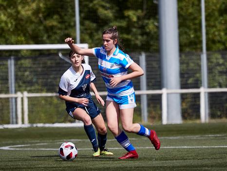 Bizkerre y Añorga jugarán la Final del XIII Torneo Getxo de Fútbol Femenino mañana en Fadura