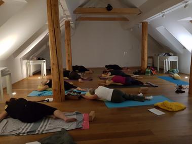 Yin Yoga Klasse