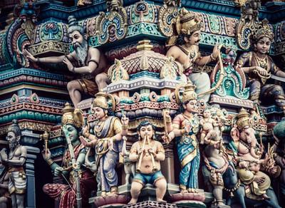 Shiva, Vishnu, Brahma, Ganesha ... die Götter die wir verehren