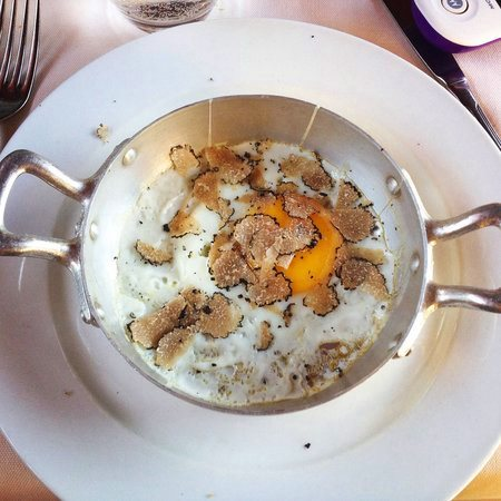 Eggs with Black Truffle