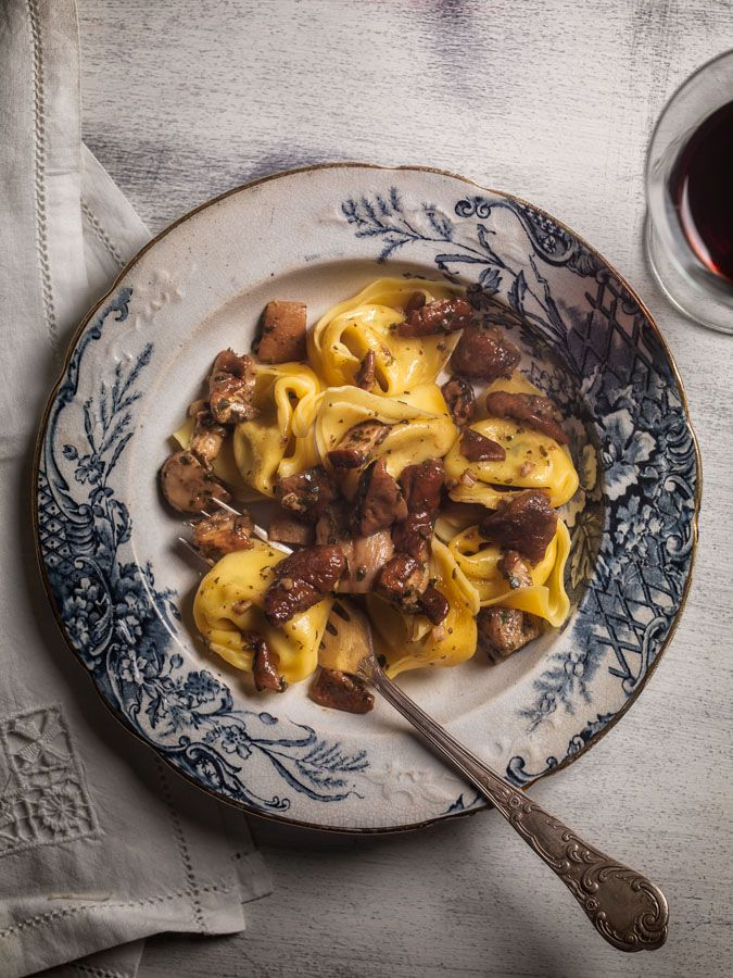Tortelloni with Porcini mushrooms