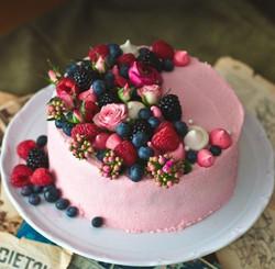 Chocolate rasperry cake