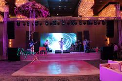 Entertainment Stage Marriott Agra