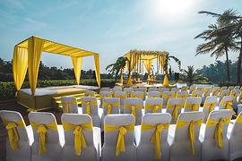 Alila Diwa Lawn Destination Wedding