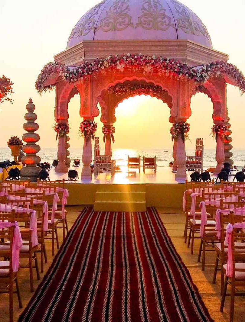 Beach Lawn, 1000+pax, Wedding-Reception.