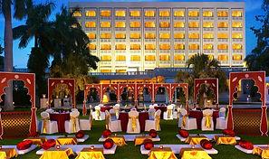 Central lawn Gateway By Taj wedding