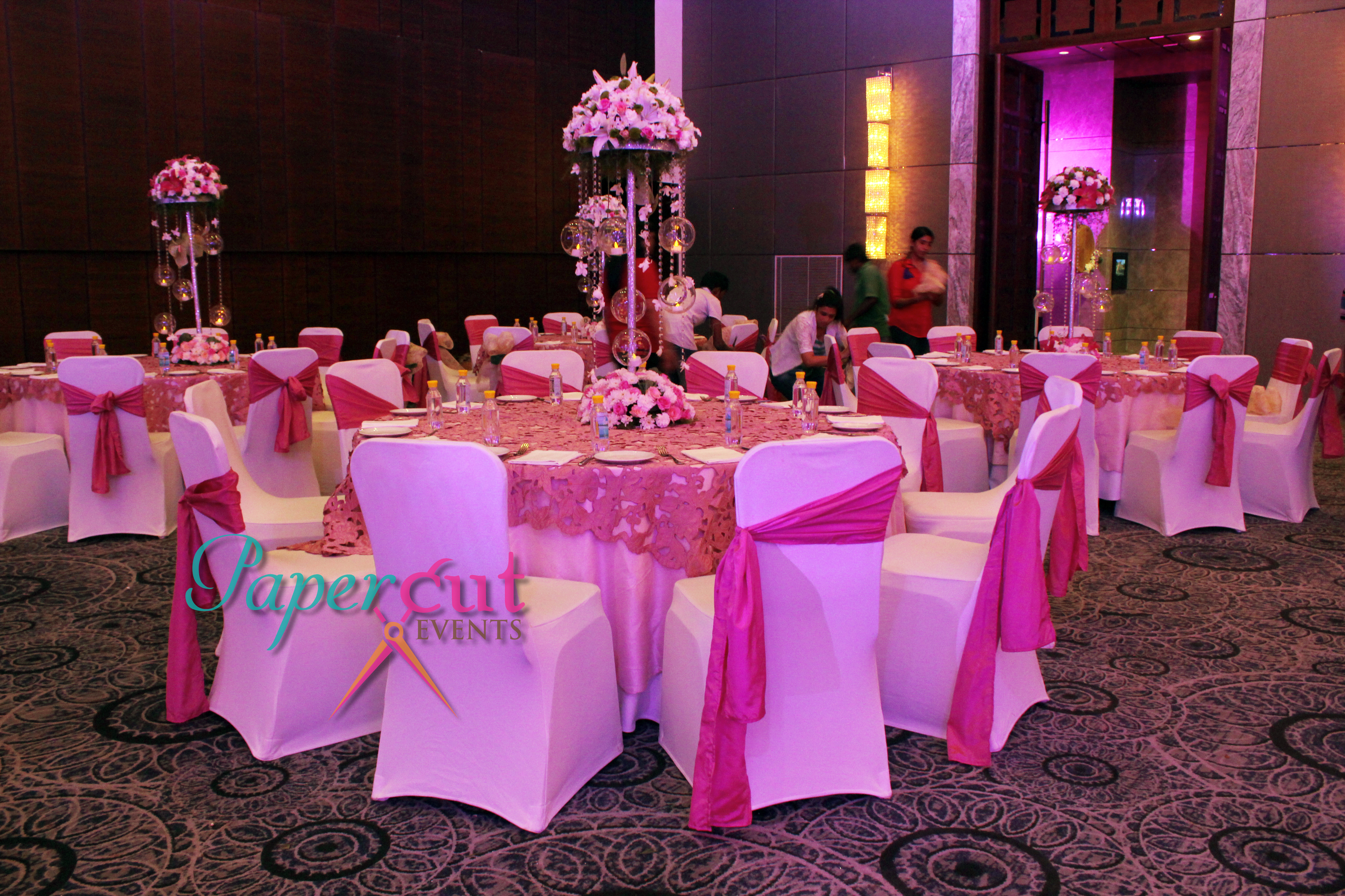 Round Table Layout Marriott Agra