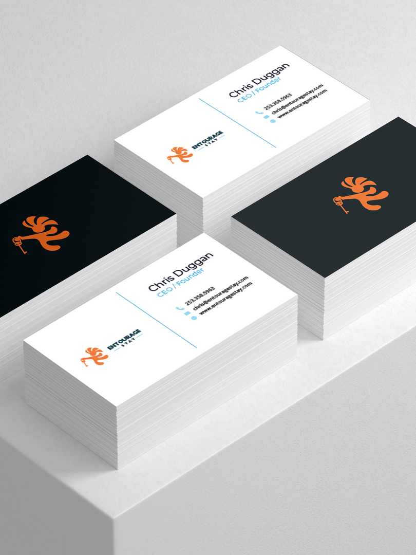 Entourage Stay Business Cards
