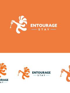 Entourage Stay Logo Variations