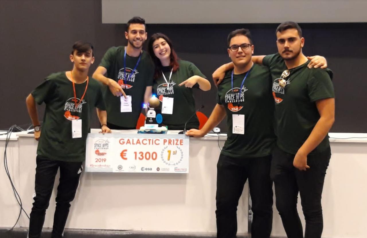 Vincitori NasaSpaceApps 2019