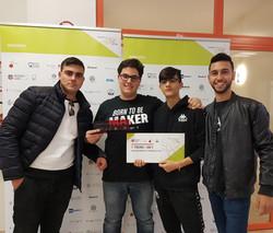 Vincitori Hackathon Roma TRE