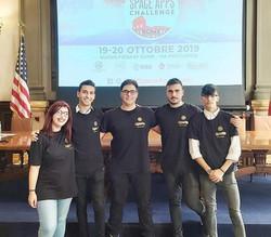 Ospiti all'ambasciata americana