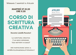 I martedì di Atelier: promo Webinar 27.10.2020
