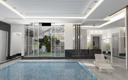 Pool in Basement