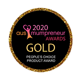 Button GOLD PEOPLES CHOICE PRODUCT AWARD