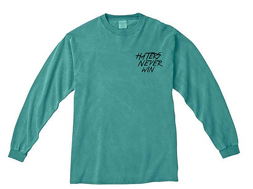 Haters Never Win Longsleeve
